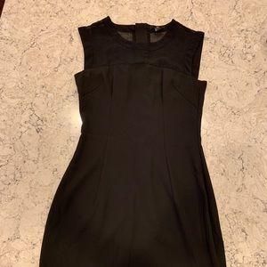 H&M Little Black Dress with Mesh Detailing